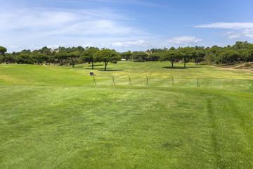 Training golf course in the Vilamoura coastline