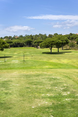 Golf course on south of Portugal