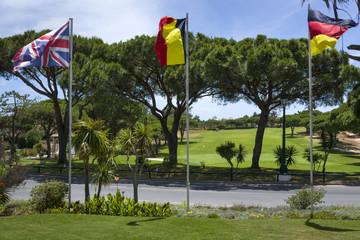 International golf club on south of Portugal,