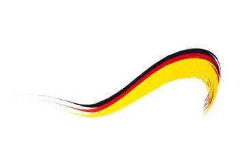 Banner - Flagge - Deutschland