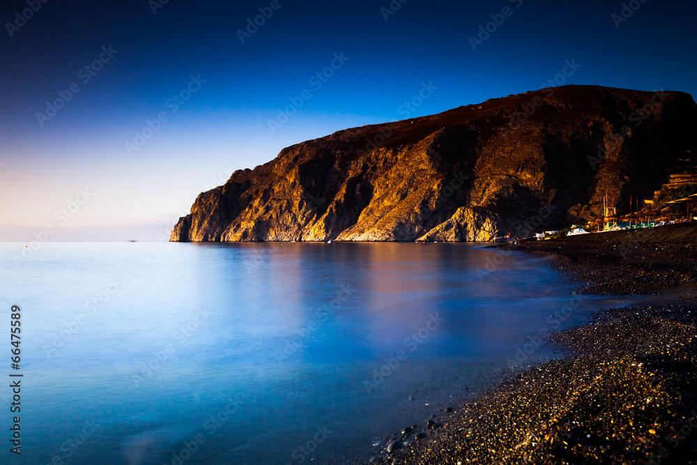 sundown kamień plaża - powiększenie