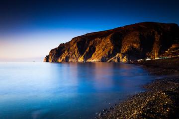 stone cliff