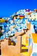 Obrazy na płótnie, fototapety, zdjęcia, fotoobrazy drukowane :  Santorini,  Greece