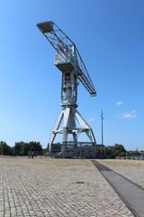 Nantes / île de Nantes - Grue Titan