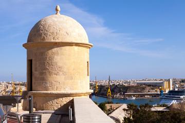 Sentry Turret, Valletta, Malta