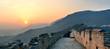 Great Wall sunset panorama