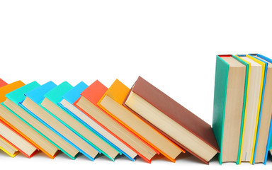 Multi-coloured books