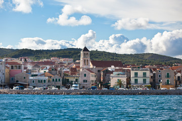Vodice is a small town on the Adriatic coast in Croatia