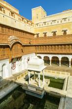 Junagarh Fort dans la ville de Bikaner Rajasthan en Inde