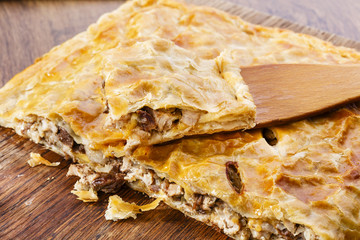 meat pie puff pastry
