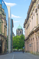 View at Berlin Cathedral church, Germany