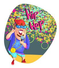 Singing hip hop star