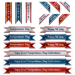 independence day ribbons