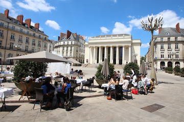 France / Nantes - place Graslin