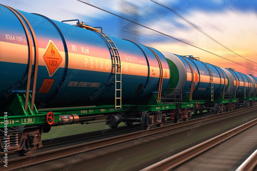 kolejowe fracht cargo - powiększenie