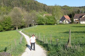 Spaziergang bei Vorra-Artelshofen