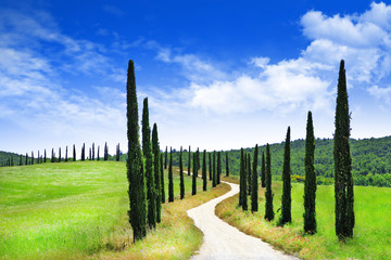 landscapes of Tuscany, Italy