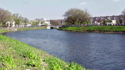 River Kharkiv - timelapse