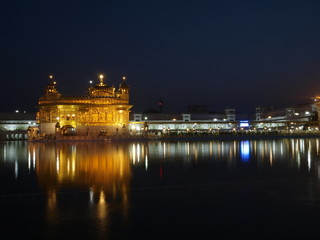Golden Temple en Amritsar (India)