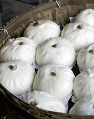 Chinese Steamed pork bun