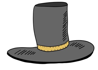 hand drawn hat