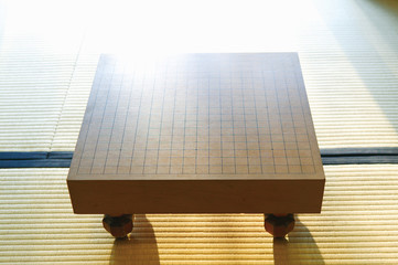 Go board on Tatami mat