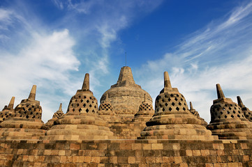 Borobudur temple, Java island, Indonesia