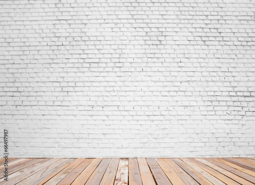 canvas print picture brick wall