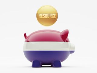 Netherlands Resource Concept