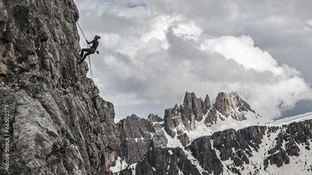 dolomit góra krajobraz - powiększenie