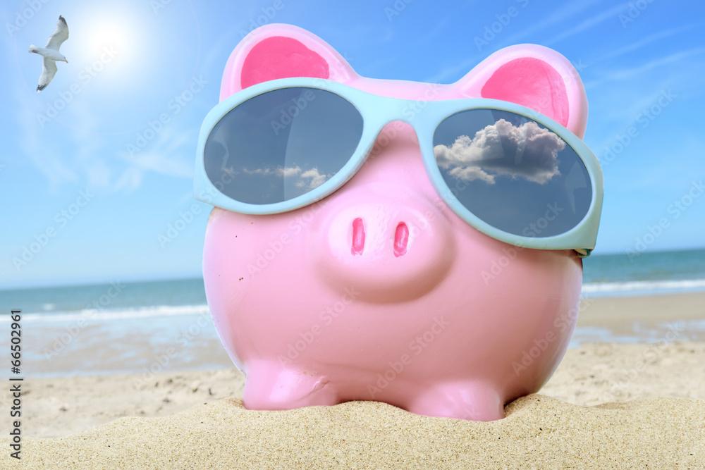 waluta skarbonka plaża - powiększenie