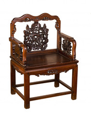 Antique Hung-Mu Chinese Chair.
