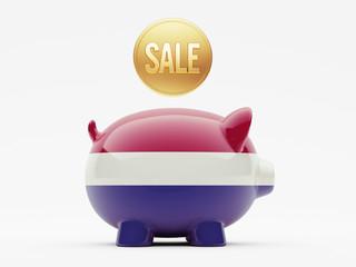 Netherlands Sale Concept