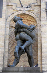 Hercules and Hanteus, Parma, Emilia Romagna, Italy