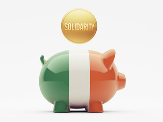 Ireland Solidarity Concept