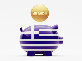 Greece Solidarity Concept