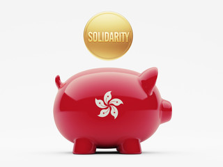 Hong Kong Solidarity Concept