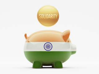 India Solidarity Concept