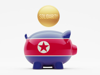 North Korea Solidarity Concept