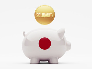 Japan Solidarity Concept