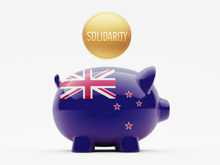 New Zealand Solidarity Concept
