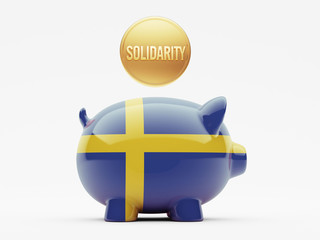 Sweden Solidarity Concept