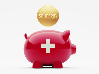 Switzerland Solidarity Concept
