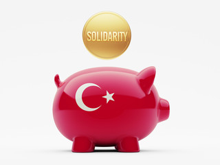 Turkey Solidarity Concept