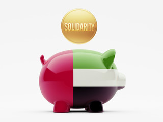 United Arab Emirates. Solidarity Concept