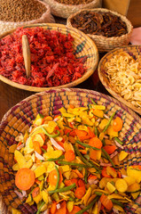 Dried fruit and vegetables