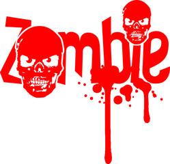 Schädel Kopf Totenkopf Böse Zombie