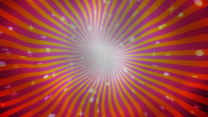 Sunburst on Textile Background