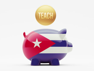 Cuba Teach Concept