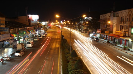 time-lapse video in Chiang Mai.